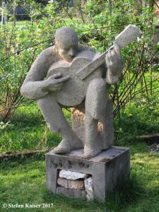 """""""Gitarrist"""", Tuffstein"""