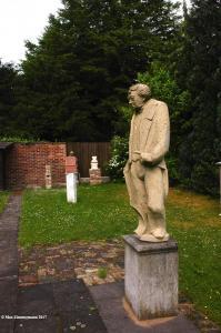 "Kölner Ratsturmfigur ""Sulpiz Boisserée"", Tuffstein"