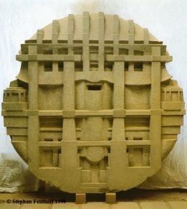 Sandstein Ø 111 x 14